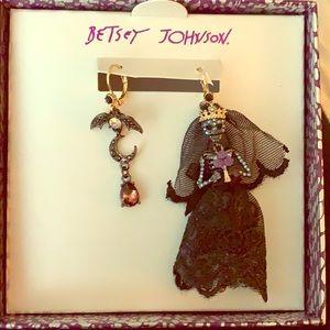 Betsey Johnson Skeleton Earrings
